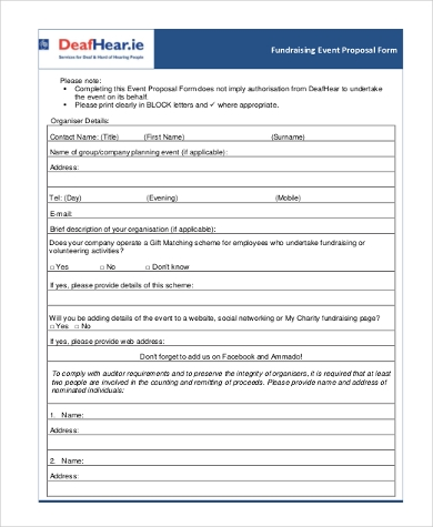 fundraising event proposal form1