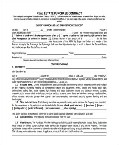 Sample Generic Purchase Agreement Forms - 8+ Free Documents In