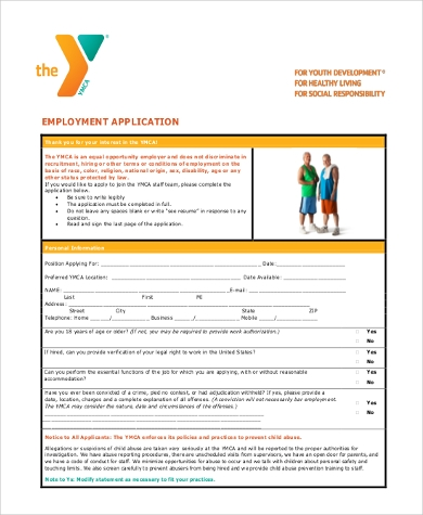 generic employment application2