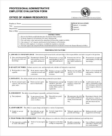 hr employee evaluation form1
