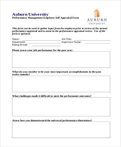 hr self appraisal form1