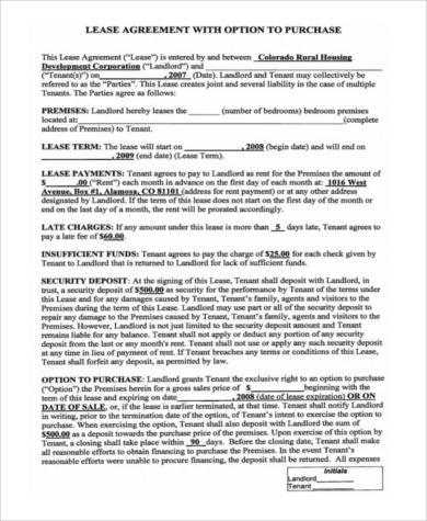 Home Purchase Agreement Sample - 8+ Free Documents In Word, Pdf