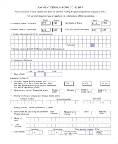 home officetravel document