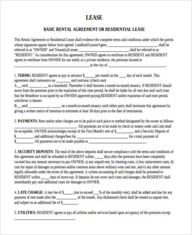 house lease contract form1