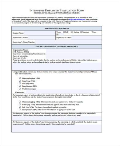 internship employer evaluation form1