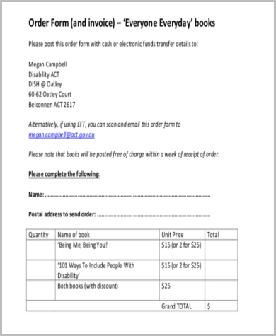 invoice order form1