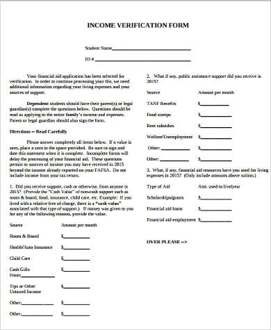 landlord income verification form1