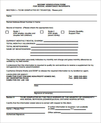 landlord income verification form2