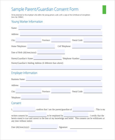 legal guardianship consent form