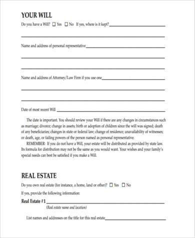Sample Will Form. Printable Sample Letter Of Resignation Form Best