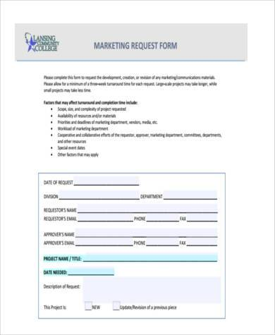 Sample Marketing Budget Forms   Free Documents In Word Pdf