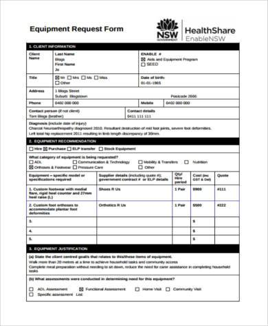 Sample Medical Evaluation Forms   Free Documents In Pdf