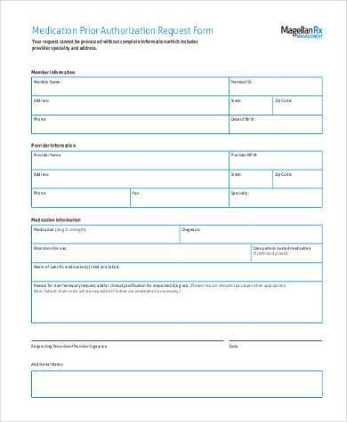 Sample Authorization Request Forms - 9+ Free Documents In Word, Pdf