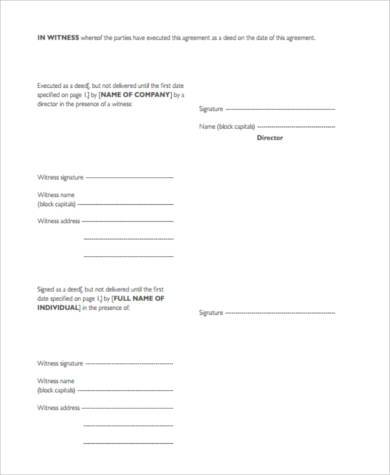 non compete agreement form example