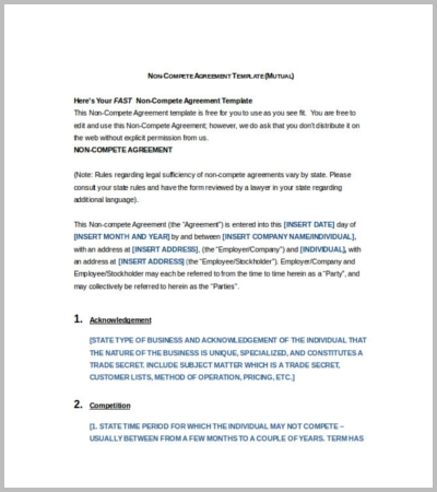 60 Agreement Template Free Word PDF Documents Download – Trade Agreement Template