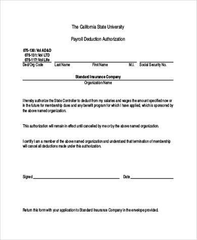 8+ Authorization Form Samples - Free Sample, Example Format Download