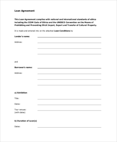 personal loan contract pdf