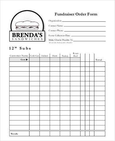 Sample Printable Order Forms - 8+ Free Documents In Pdf