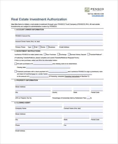 Sample Investment Agreement Forms - 8+ Free Documents in PDF
