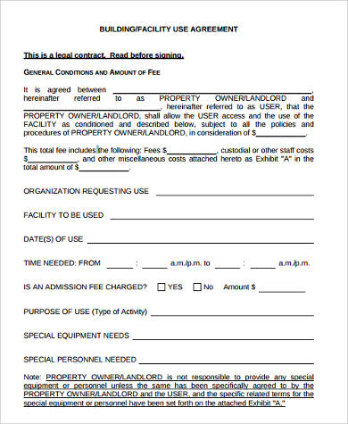 Sample Rent To Own Agreement   Free Documents In Word Pdf