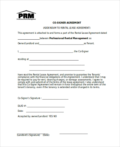 Rental Agreement Form Sample   Free Documents In Word Pdf