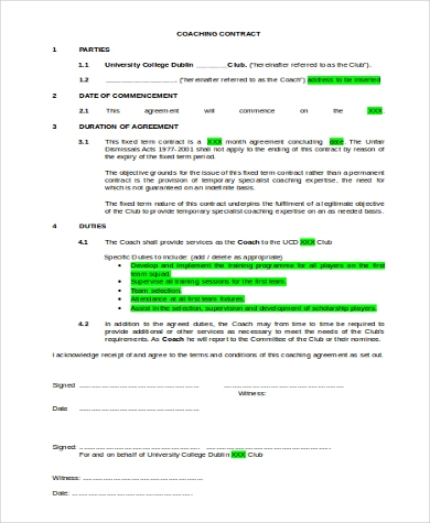 Sample Contracts Forms   Free Documents In Word Pdf