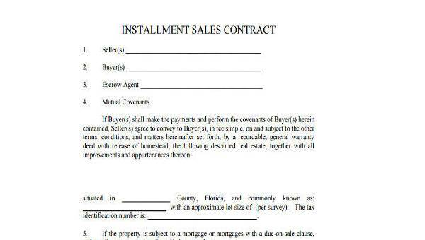 Car Installment Payment Contract Template from images.sampleforms.com