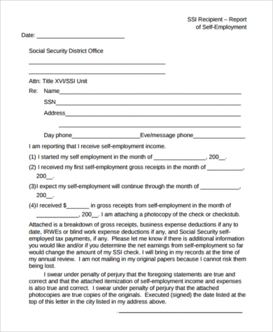 self employed contractor tax form