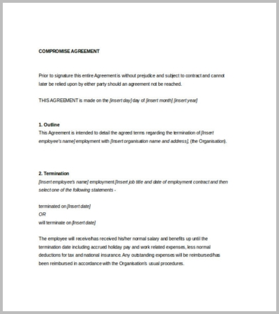 Doc468605 Loan Contract Template Word 5 Loan Agreement – Loan Agreement Template Word