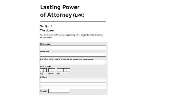 Simple Power Of Attorney Form Free Documents In Word PDF - Simple legal documents