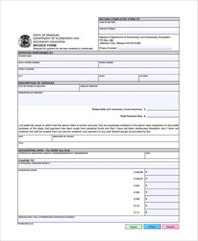 small business invoice form1