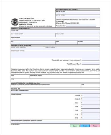 small business invoice form2