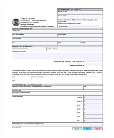 small business invoice form3