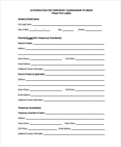 temporary legal guardianship form2