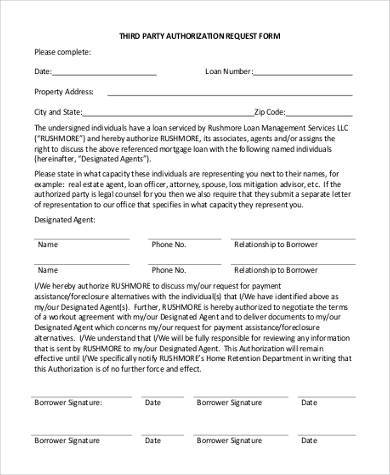 third party authorization request form1
