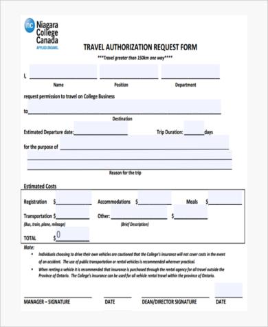 travel authorization request form1