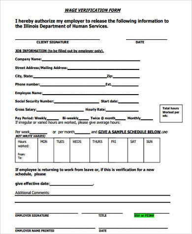 wage verification form example1