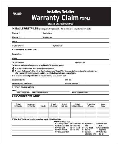 8+ Claim Form Samples - Free Sample, Example Format Download