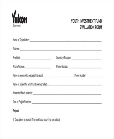 youth group evaluation form1