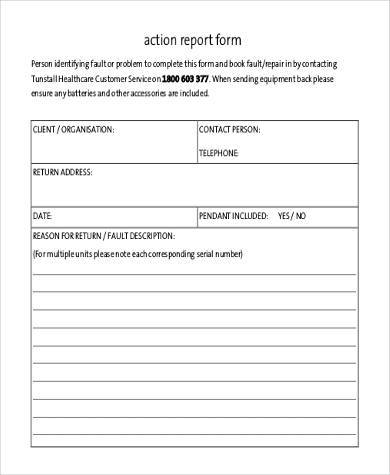action report form in pdf1