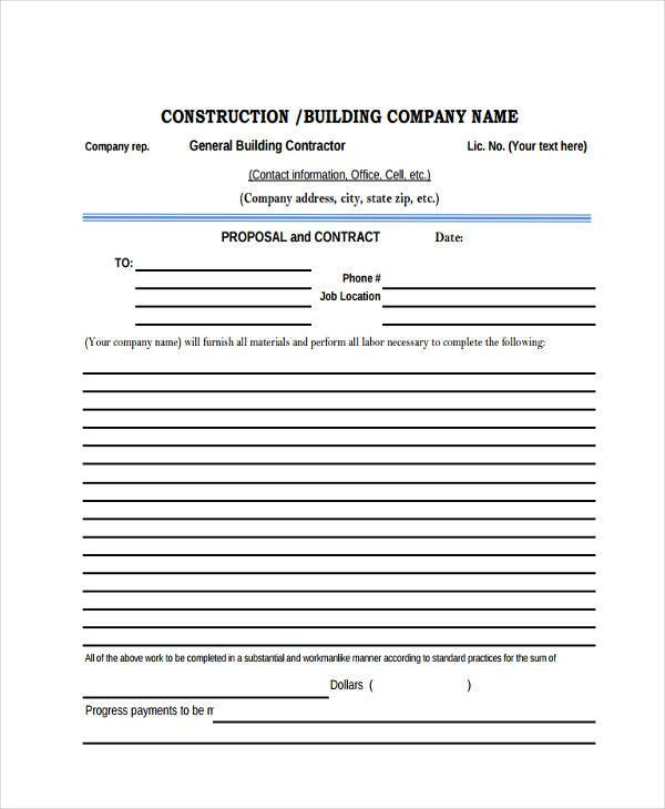 blank construction proposal form1