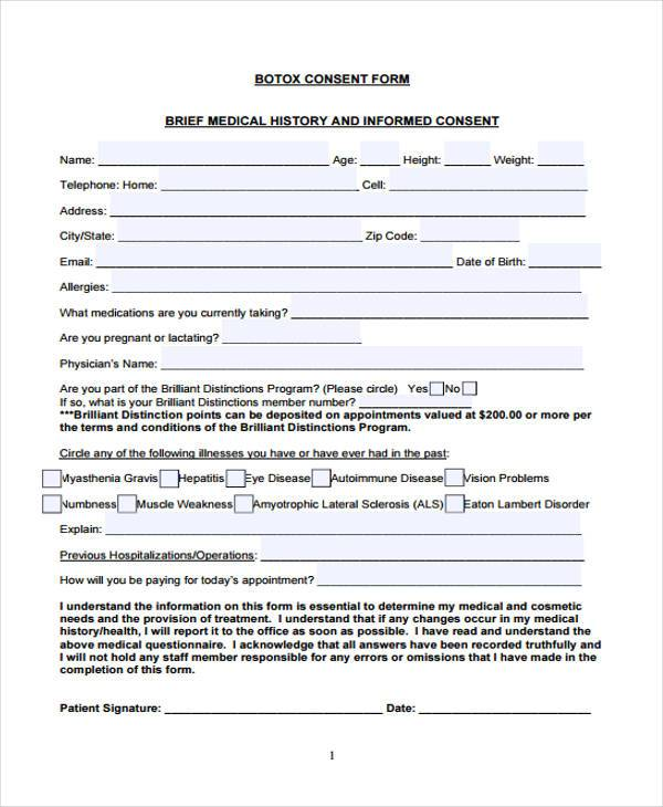 Photo Consent Forms Medical Parental Consent Form Sample Medical