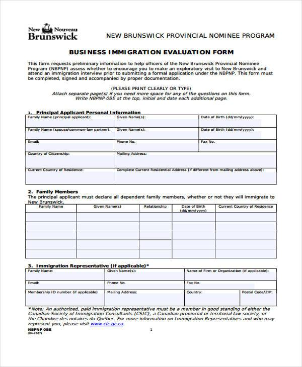 6+ Relationship Evaluation Form Samples - Free Sample, Example