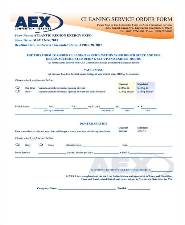 Service Contract Form Samples  Free Sample Example Format Download