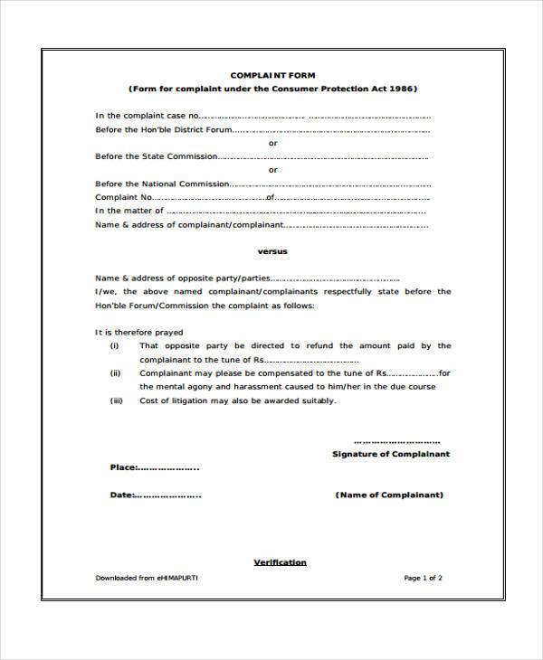 Consumer Protection Actconsumer Form. File:Medwatch Consumer
