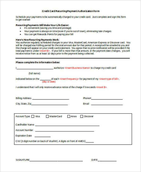 32+ Authorization Form Examples - Free Sample, Example Format Download