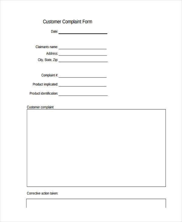 customer product complaint form1