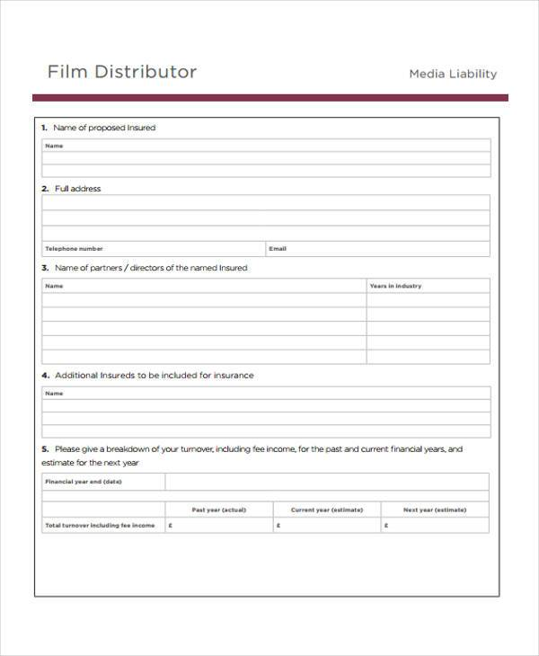 distributor marketing proposal form1
