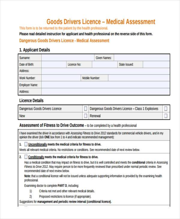 driver medical assessment form1