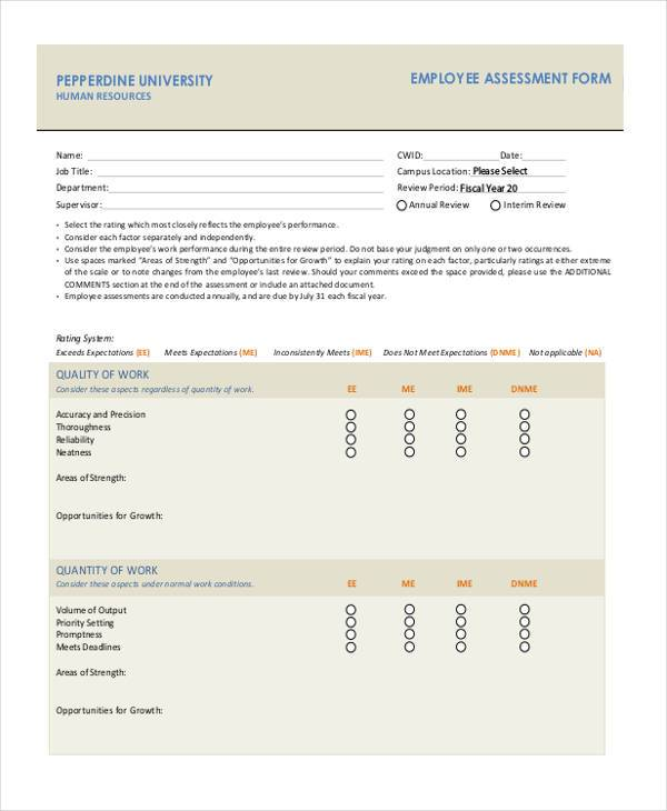 employee assessment evaluation form1